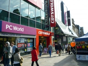 Cotswold, Northumberland Street, Newcastle (14 Mar 2011). Photograph by Graham Soult