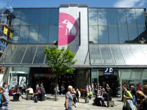 HMV Newcastle (11 Jun 2010). Photograph by Graham Soult