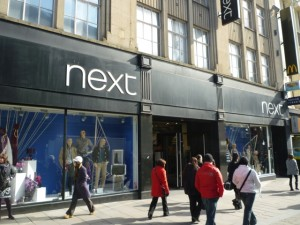 Next, Northumberland Street, Newcastle (now closed) (14 Mar 2011). Photograph by Graham Soult