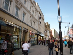 Northumberland Street, Newcastle (14 Mar 2011). Photograph by Graham Soult