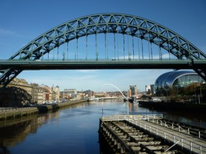 The iconic Tyne Bridge. Photograph by Graham Soult