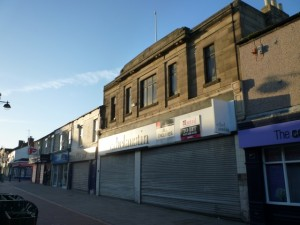 Former Woolworths and Ethel Austin, Seaham (1 Mar 2011). Photograph by Graham Soult