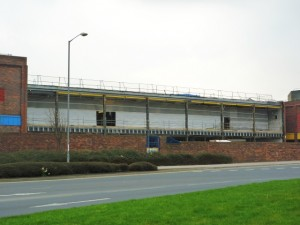 Rear of former Woolworths, MetroCentre (25 Mar 2011). Photograph by Graham Soult
