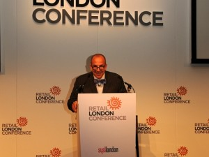 Glen T Senk at the Retail London Conference
