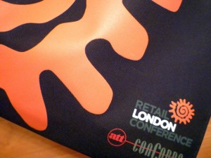 Retail London branding. Photograph by Graham Soult
