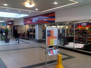 Former Woolworths (now B&M Bargains), Burton upon Trent (13 Mar 2011). Photograph by Martin Jarvis