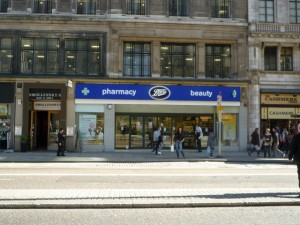 Former Woolworths (now Boots), the Strand (6 Apr 2011). Photograph by Graham Soult