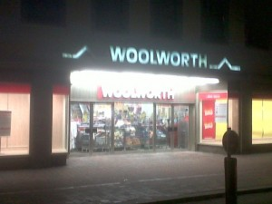 Woolworth, Freising, Germany (17 Jan 2011). Photograph by Chris Exall