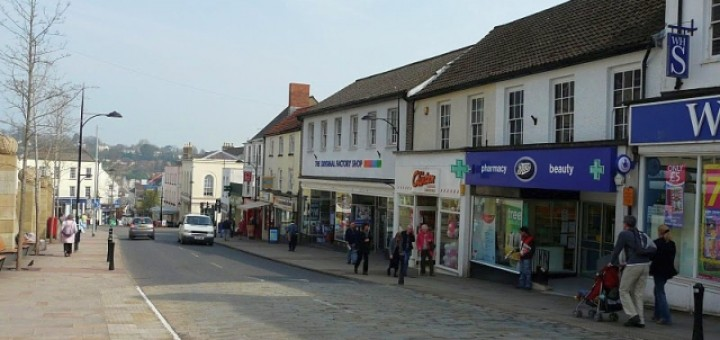 Former Woolworths (now The Original Factory Shop), Chepstow (24 Mar 2011). Photograph by Alistair Leaver