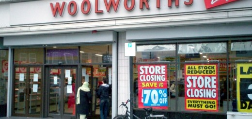 Woolworths, South Harrow (31 Dec 2008). Photograph by Barry Marshall