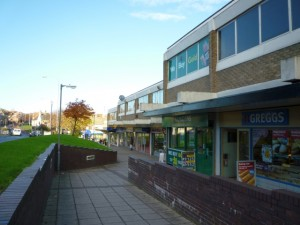 Shops at Felling Square (10 Nov 2010). Photograph by Graham Soult