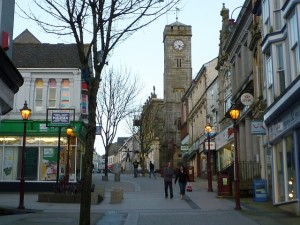 Fore Street, Redruth (19 Feb 2011). Photograph by Graham Soult