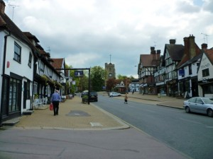 High Street, Pinner (14 May 2010). Photograph by Graham Soult