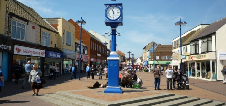 Redcar High Street (4 May 2011). Photograph by Graham Soult