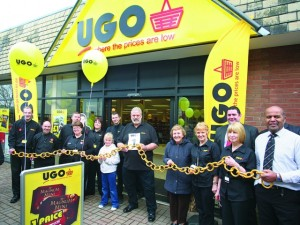 Strongman Geoff Capes at the launch of Biddulph's UGO in February