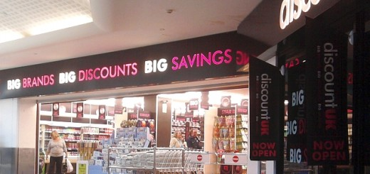 Discount UK (former Woolworths), Middlesbrough (4 May 2011). Photograph by Graham Soult