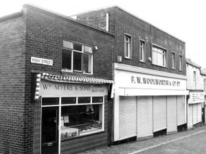 1985 view of Felling Woolworths