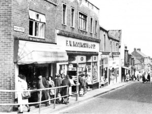 April 1966 view of Woolworths, Felling. From 'Gateshead in Focus' book