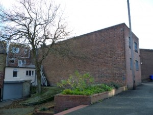 Rear of former Woolworths, Felling (10 Nov 2010). Photograph by Graham Soult