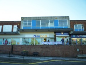 Former Woolworths (now Nisa), North Kenton (10 Nov 2010). Photograph by Graham Soult