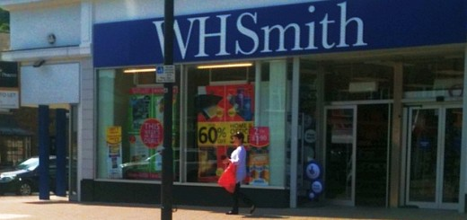 Former Woolworths (now WHSmith), Pinner, 1 May 2011. Photograph by Bryan Roberts