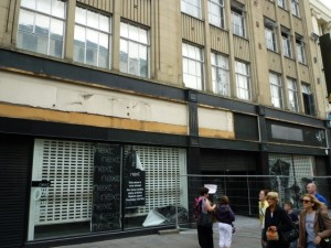 Former Next, Northumberland Street (6 Jun 2011). Photograph by Graham Soult