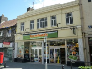 Former Woolworths (now Farmfoods), Hawick (29 May 2011). Photograph by Graham Soult