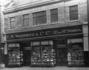 Woolworths, Hawick, in 1931. Photograph courtesy of Ettrick Graphics