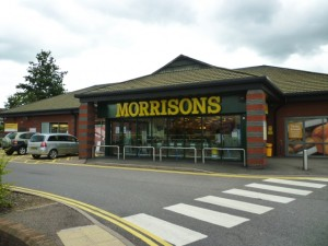 New Morrisons, Tamworth (17 Jun 2011). Photograph by Graham Soult