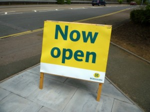 There's no missing Tamworth's new Morrisons (17 Jun 2011). Photograph by Graham Soult