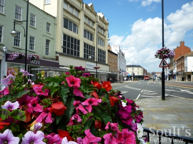 Stockton High Street (11 Jul 2011). Photograph by Graham Soult