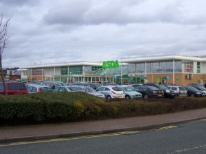 Large Asda at Gateshead's Metrocentre (31 Mar 2010). Photograph by Graham Soult