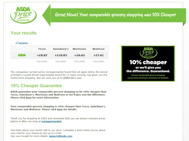 Asda online shopping, find fresh groceries, George clothing & home, insurance, & more delivered to your door. Save money. Live better.
