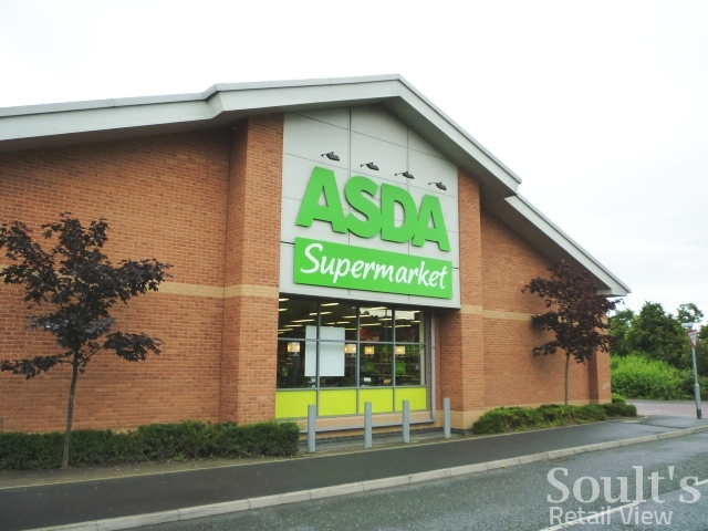 Asda Supermarket Gateshead 8 Aug 2011 Photograph By Graham Soult