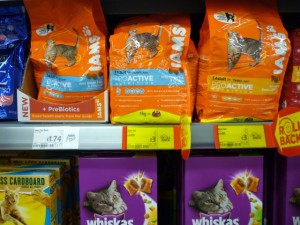 Iams at Asda Supermarket, Gateshead (8 Aug 2011). Photograph by Graham Soult