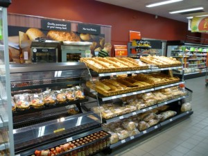 Instore bakery, Asda Supermarket, Gateshead (8 Aug 2011). Photograph by Graham Soult
