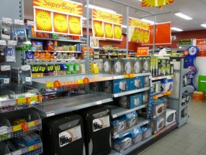 Non-food 'SuperBuys', Asda Supermarket, Gateshead (8 Aug 2011). Photograph by Graham Soult
