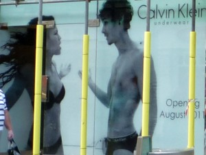 CKU window poster (8 Aug 2011). Photograph by Graham Soult
