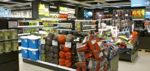 Outdoor zone, Clas Ohlson, Newcastle (23 Aug 2011). Photograph by Graham Soult