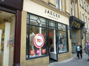 Jaeger, Newcastle (8 Aug 2011). Photograph by Graham Soult