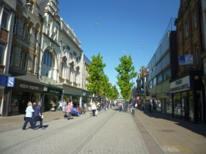 King Street, South Shields (30 Apr 2011). Photograph by Graham Soult