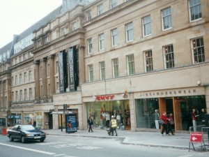 Market Street, Newcastle, in 2000. Photograph by Graham Soult