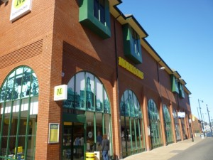 Morrisons, South Shields (30 Apr 2011). Photograph by Graham Soult