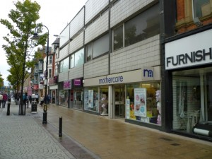 Mothercare, South Shields (8 Aug 2011). Photograph by Graham Soult