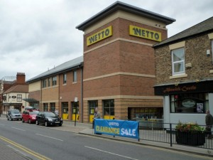 Netto in North Shields (8 Aug 2011). Photograph by Graham Soult
