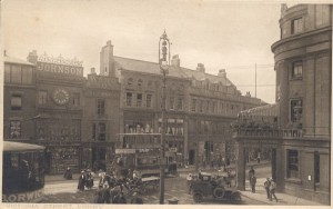 Early (pre-1918?) view of Victoria Street, Derby