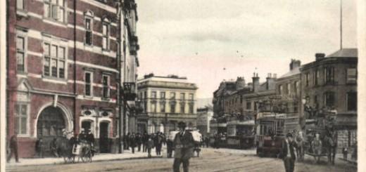 Postcard of Victoria Street, c.1908