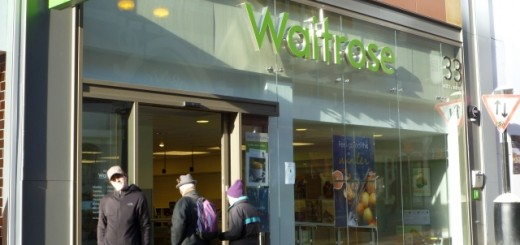 Existing Waitrose convenience store, Leeds (21 Jan 2011). Photograph by Graham Soult