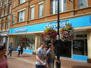 Clas Ohlson, Reading (19 Aug 2011). Photograph by Graham Soult