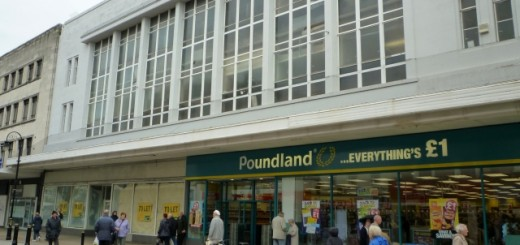 Former Woolworths, South Shields (8 Aug 2011). Photograph by Graham Soult